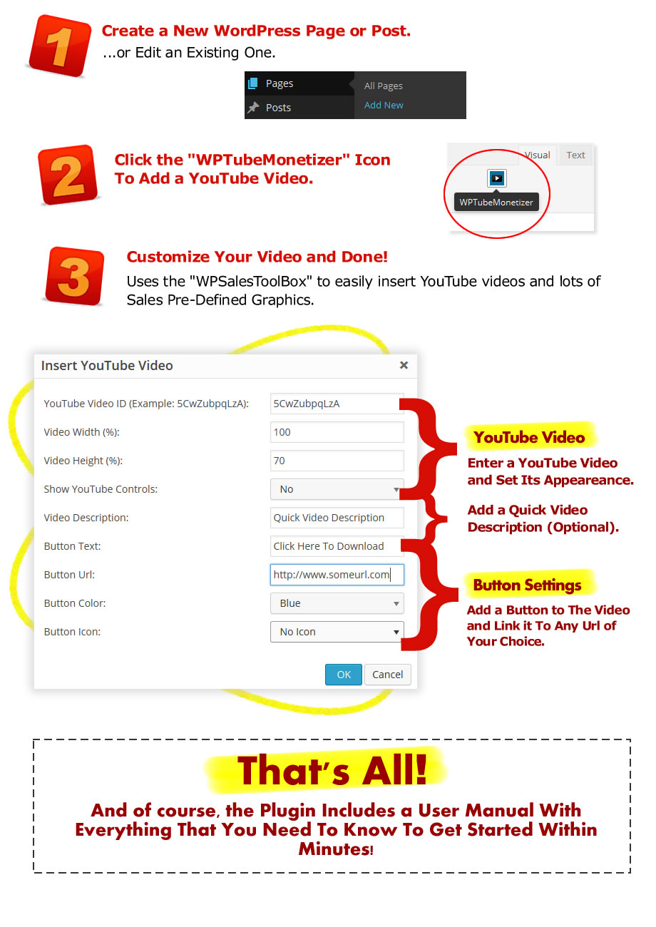 WP Tube Monetizer Plugin [GIVEAWAY]