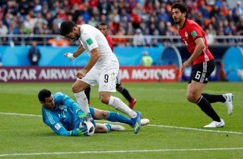 الأوروغواي تخطف الفوز في الوقت القاتل من المنتخب المصري (فيديو)