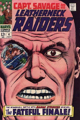 Capt Savage and his Leatherneck Raiders, Baron Strucker