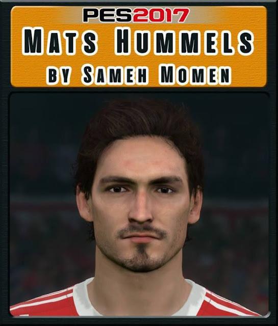 Mats Hummels Face PES 2017
