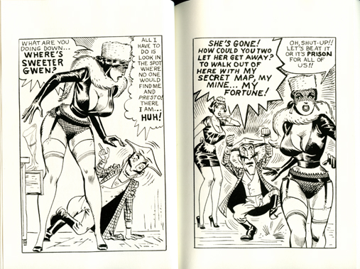 Sweeter Gwen by Eric Stanton, Steve Ditko - reconstructed - FetHistory