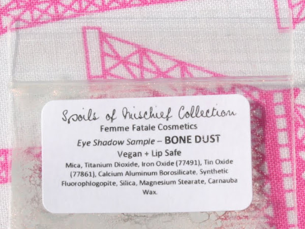 Femme Fatale Friday: Bone Dust Eyeshadow Swatches & Review