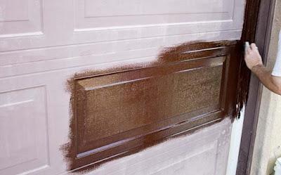 Cara Mengecat Pintu Kayu dengan Melamin