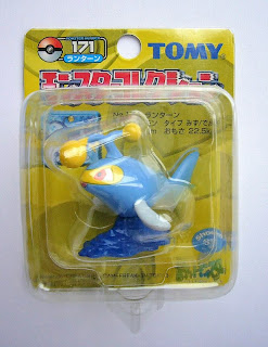 Lanturn Pokemon figure Tomy Monster Collection yellow package series