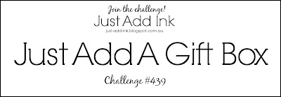 Jo's Stamping Spot - Just Add Ink Challenge #439