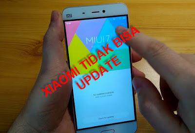 hp xiaomi tidak bisa update