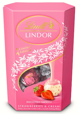 Lindt Lindor Strawberries and Cream