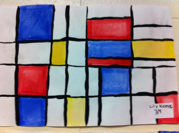Yankeetown Art Mondrian Abstract