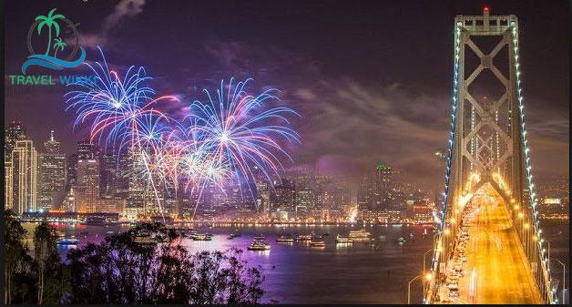 California  at new year
