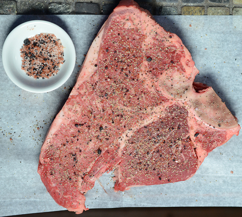 beef, steak, porterhouse steak, steak BGE, grill dome steak, kamado joe steak