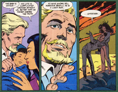 panels from Green Arrow v2 #24 (1989). Property of DC comics.