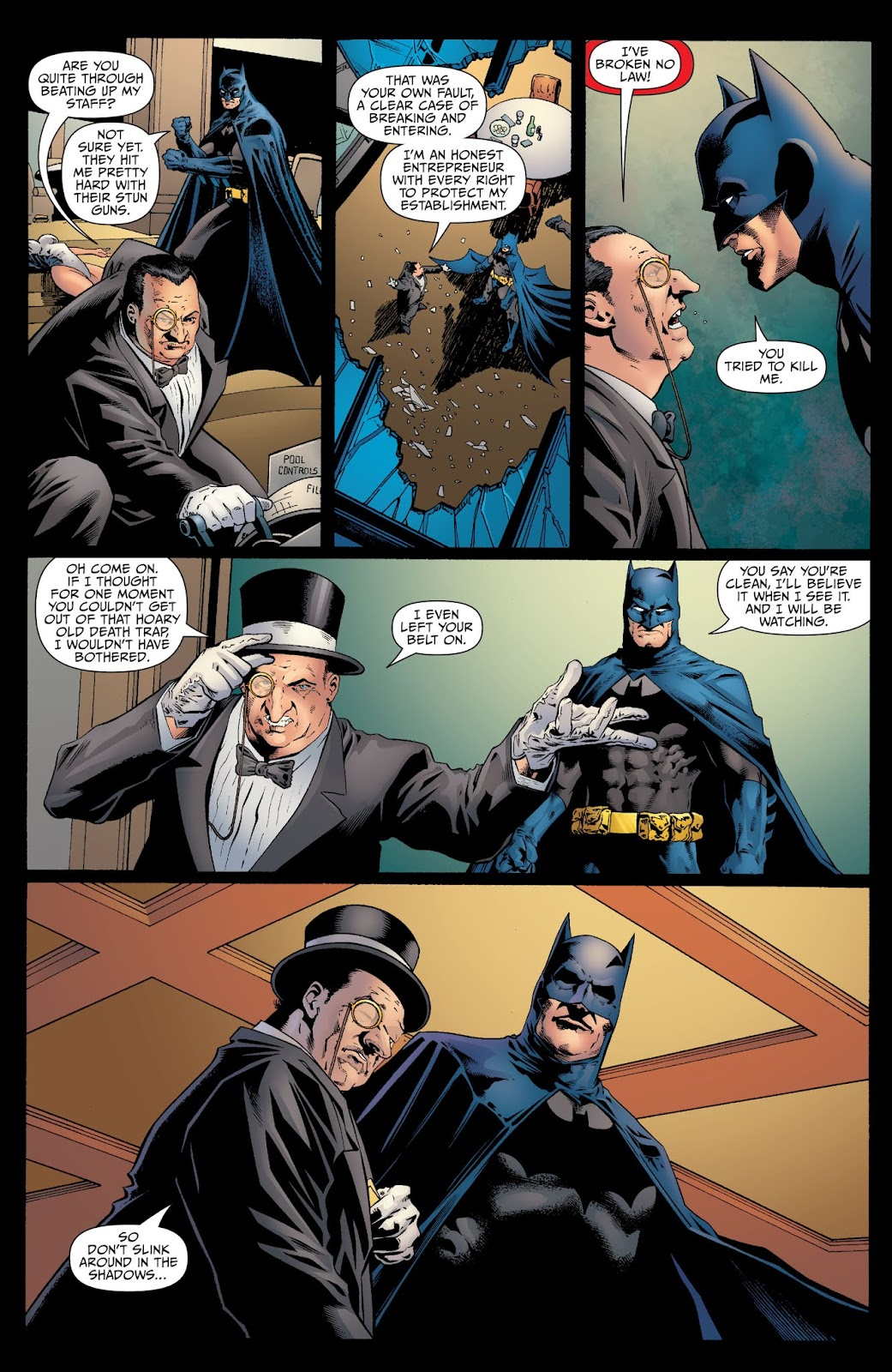 Batman Arkham: Penguin 3 Page 1