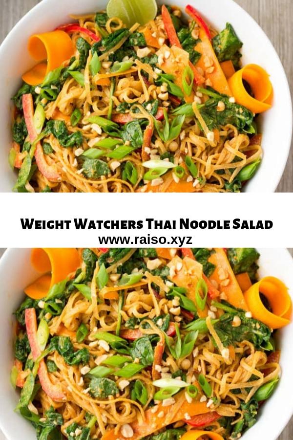 Weight Watchers Thai Noodle Salad