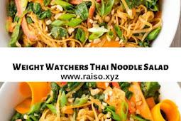 Weight Watchers Thai Noodle Salad