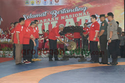 Ganjar Buka Kejurnas Gulat Senior U23 di Grobogan
