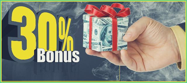 Bonus 30% setiap Deposit - Broker ForexMart