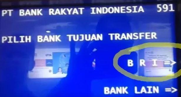 Biaya Transfer Melalui ATM BRI