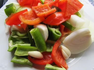 Estofado de cerdo con verduras Thermomix