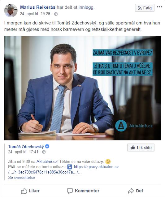 07a1deba Marius Reikerås hevder på sin FB-vegg at «verdens største  menneskerettsorganisasjon» har publisert en rapport med sterk kritikk av  det norske barnevernet.