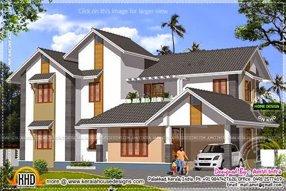 House plan elevation
