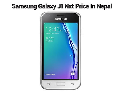 Samsung Galaxy j1 Nxt Price in Nepal