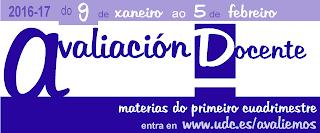 Avaliación Docente 2016-17