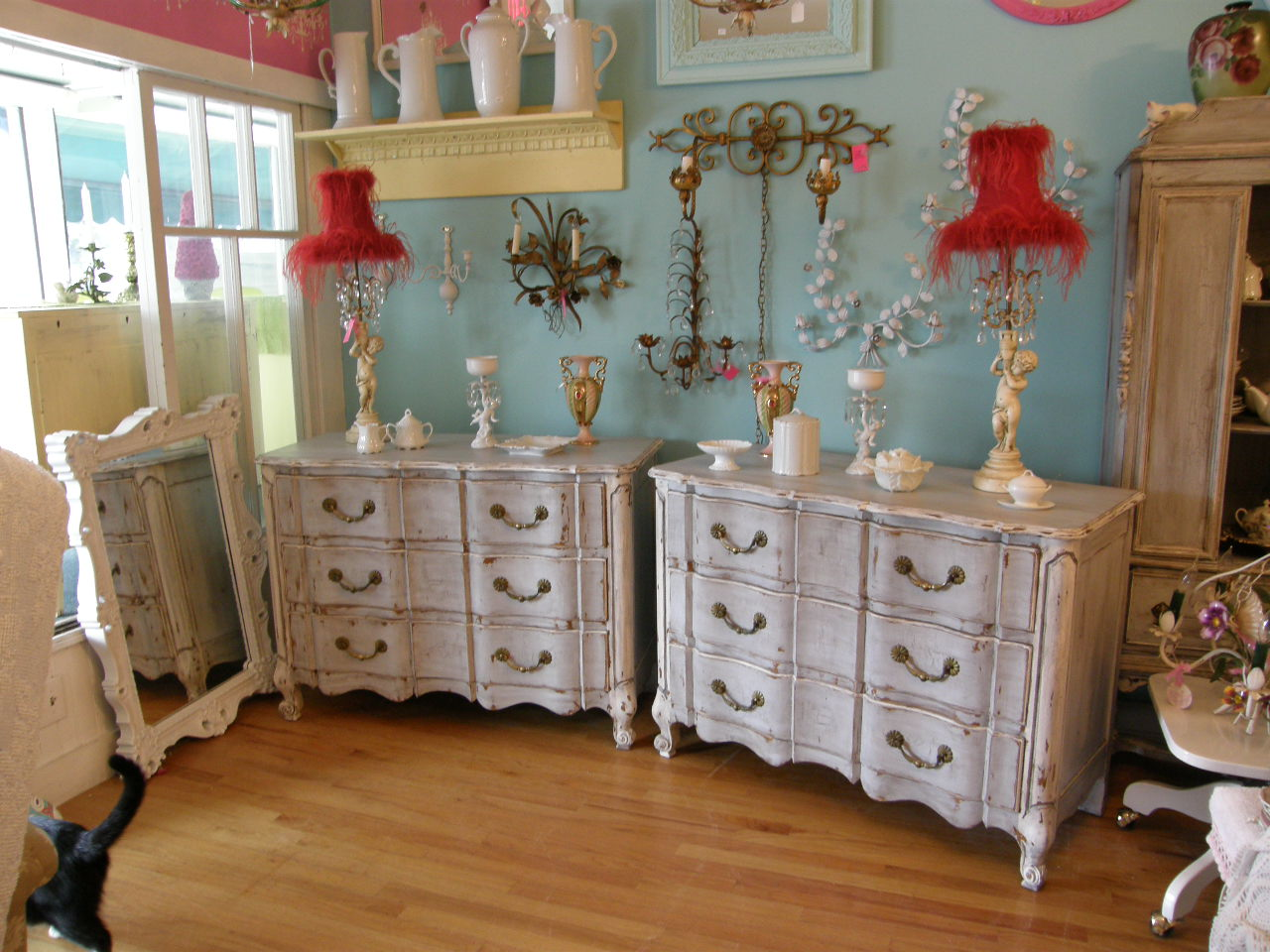 Vintage chic furniture schenectady ny new wonderful - French shabby chic bedroom furniture ...