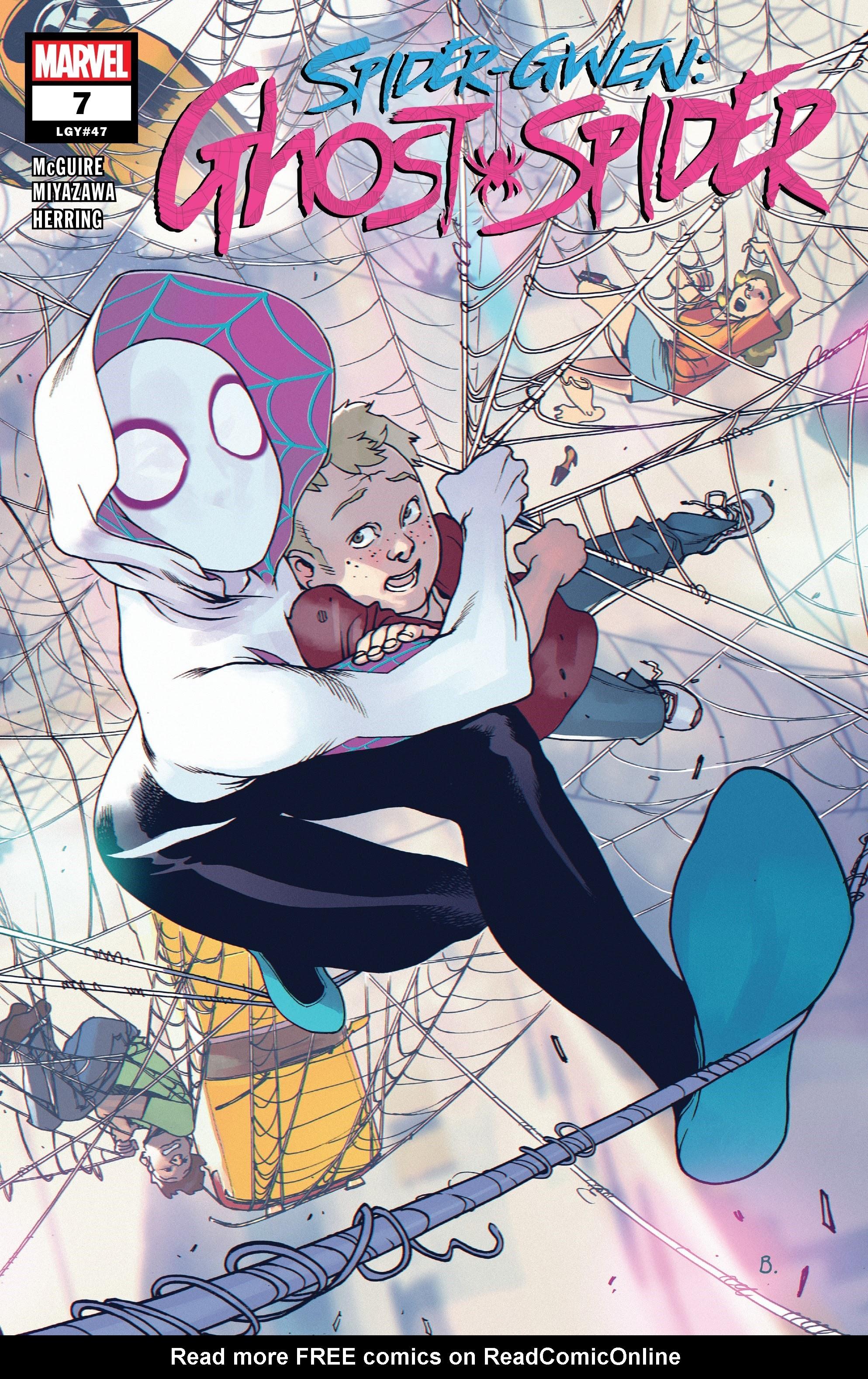 Spider-Gwen: Ghost-Spider 7 Page 1