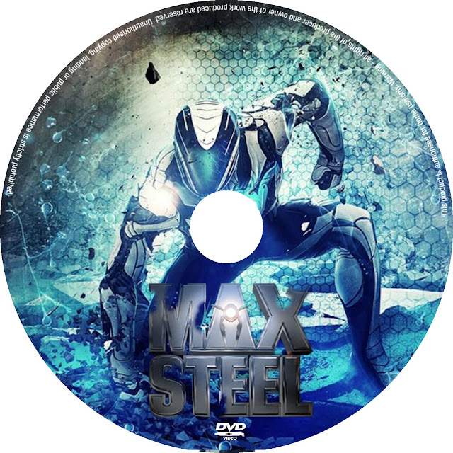 Label DVD Max Steel