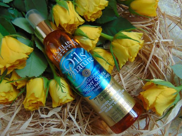 Eveline Cosmetics - Oils of nature - Luksusowy suchy olejek + serum nawilżające