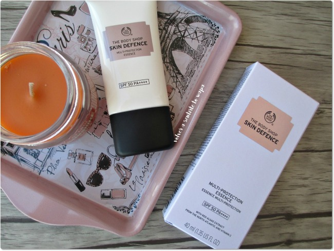 Protección Solar: Skin Defence de The Body Shop