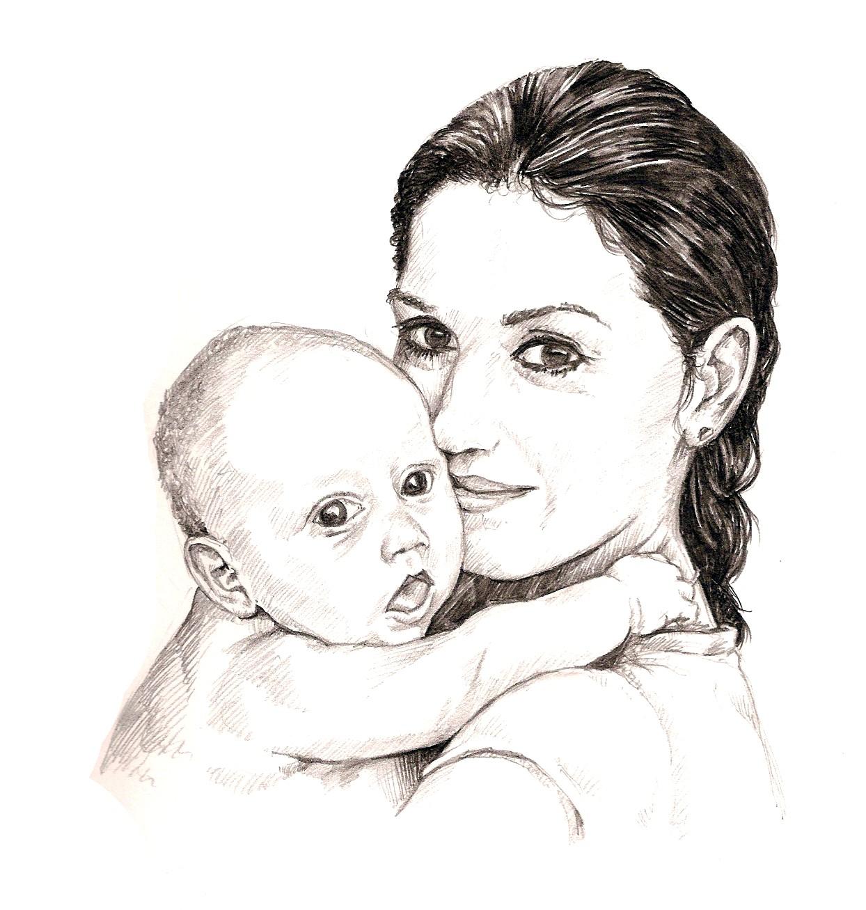 Картинки с днем матери нарисованные, картинки моя