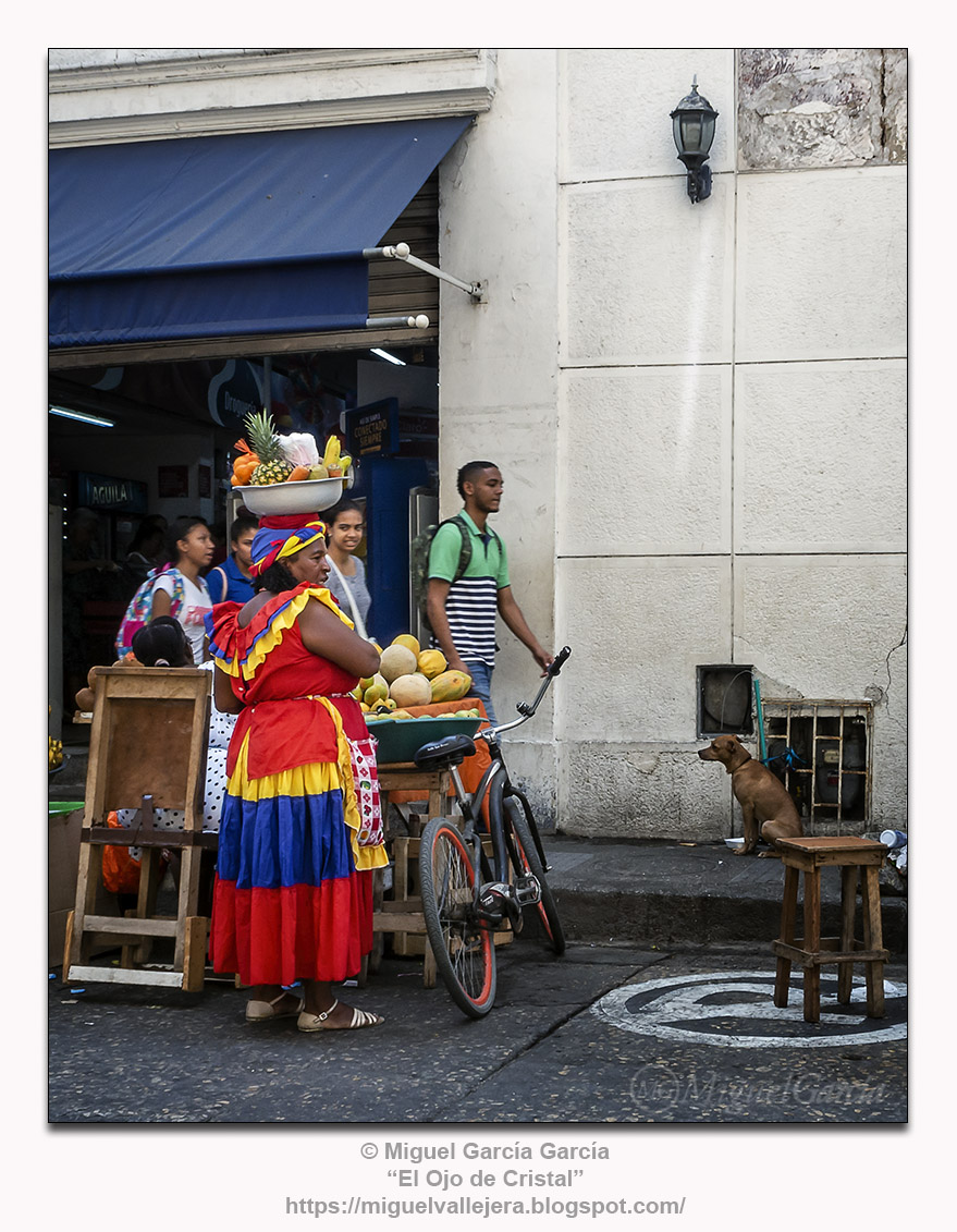 Cartagena, Colombia.- Las Palenqueras.