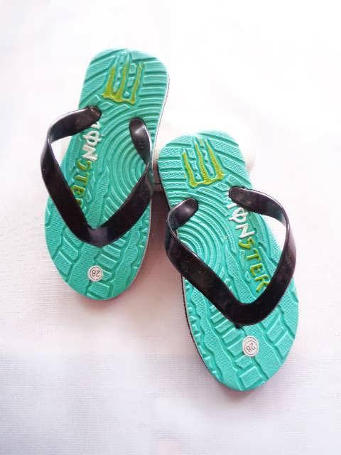 Pabrik sandal murah spon anak monster