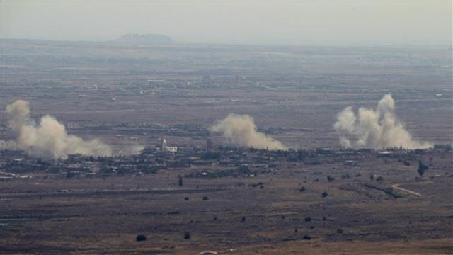 Israeli military aircraft launches new airstrikes on Syria's Golan Heights