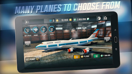 Download Game Flight Sim 2018 Mod Money cho Android