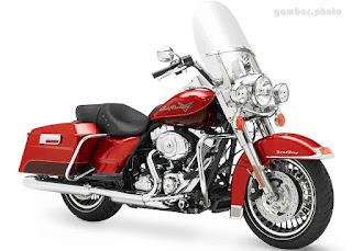 Harley Davidson FLHR Road King motorcycle