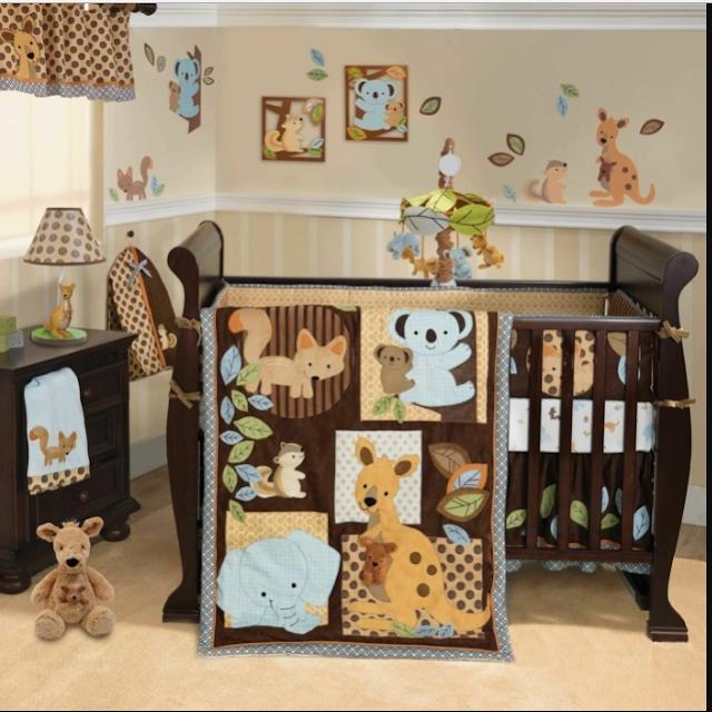 decoracion habitacion bebe animales