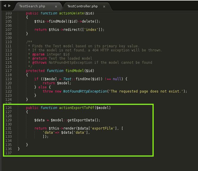 Unix Enthusiast : Yii2: Integrate FPDF in Yii2