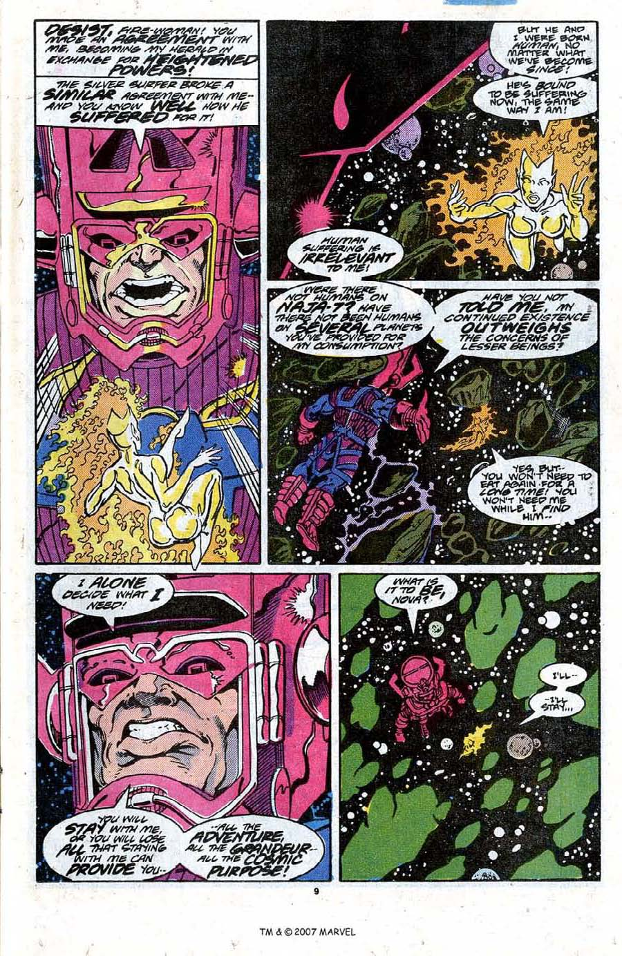 Read online Silver Surfer (1987) comic -  Issue #20 - 11