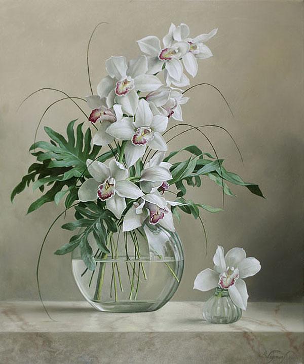 im225genes arte pinturas quothiperrealistasquot cuadros de flores