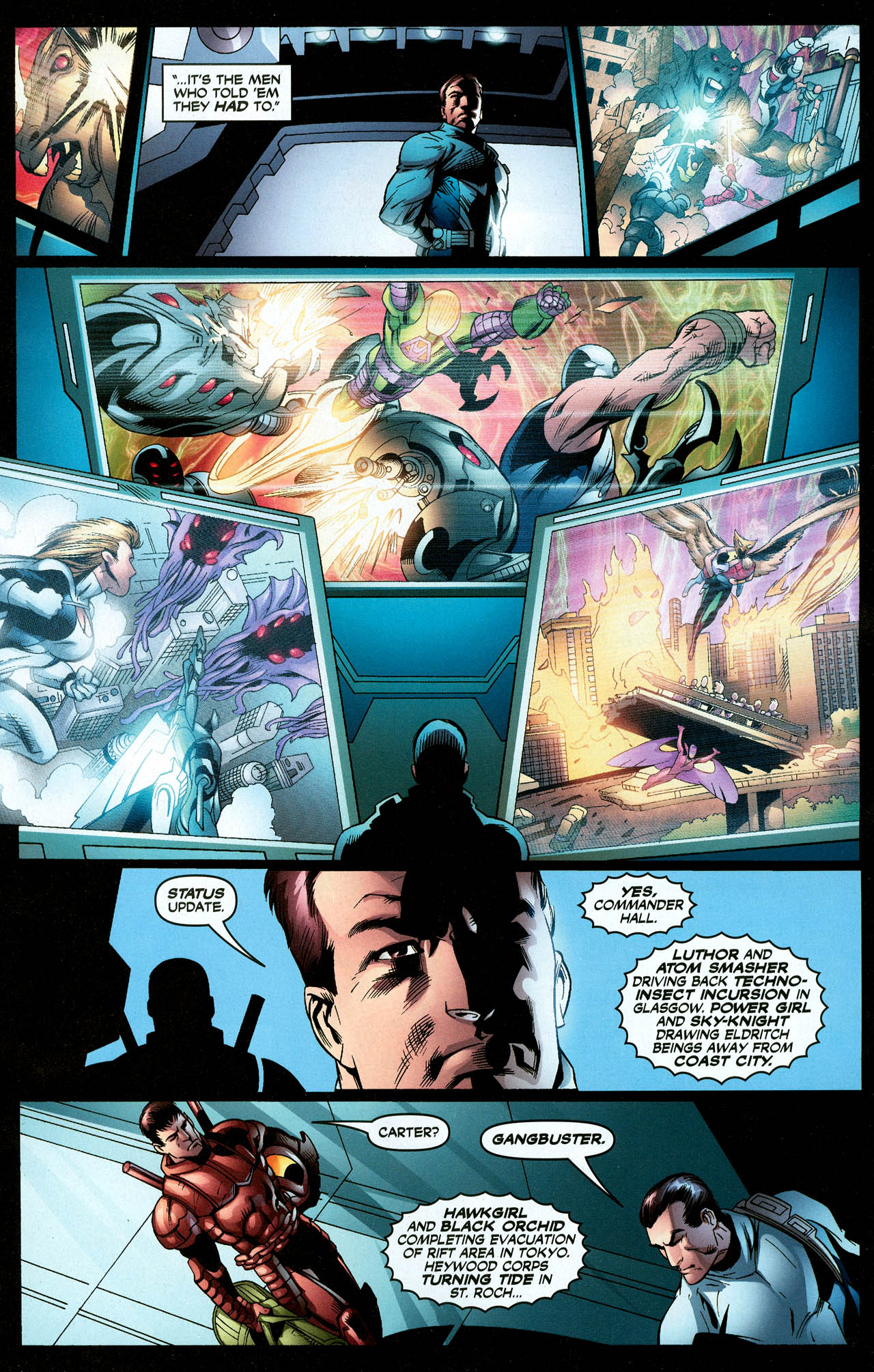 Read online Trinity (2008) comic -  Issue #27 - 7
