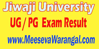 Jiwaji University UG / PG 2016 Exam Result