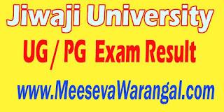 Jiwaji University UG / PG 2016 Exam Result