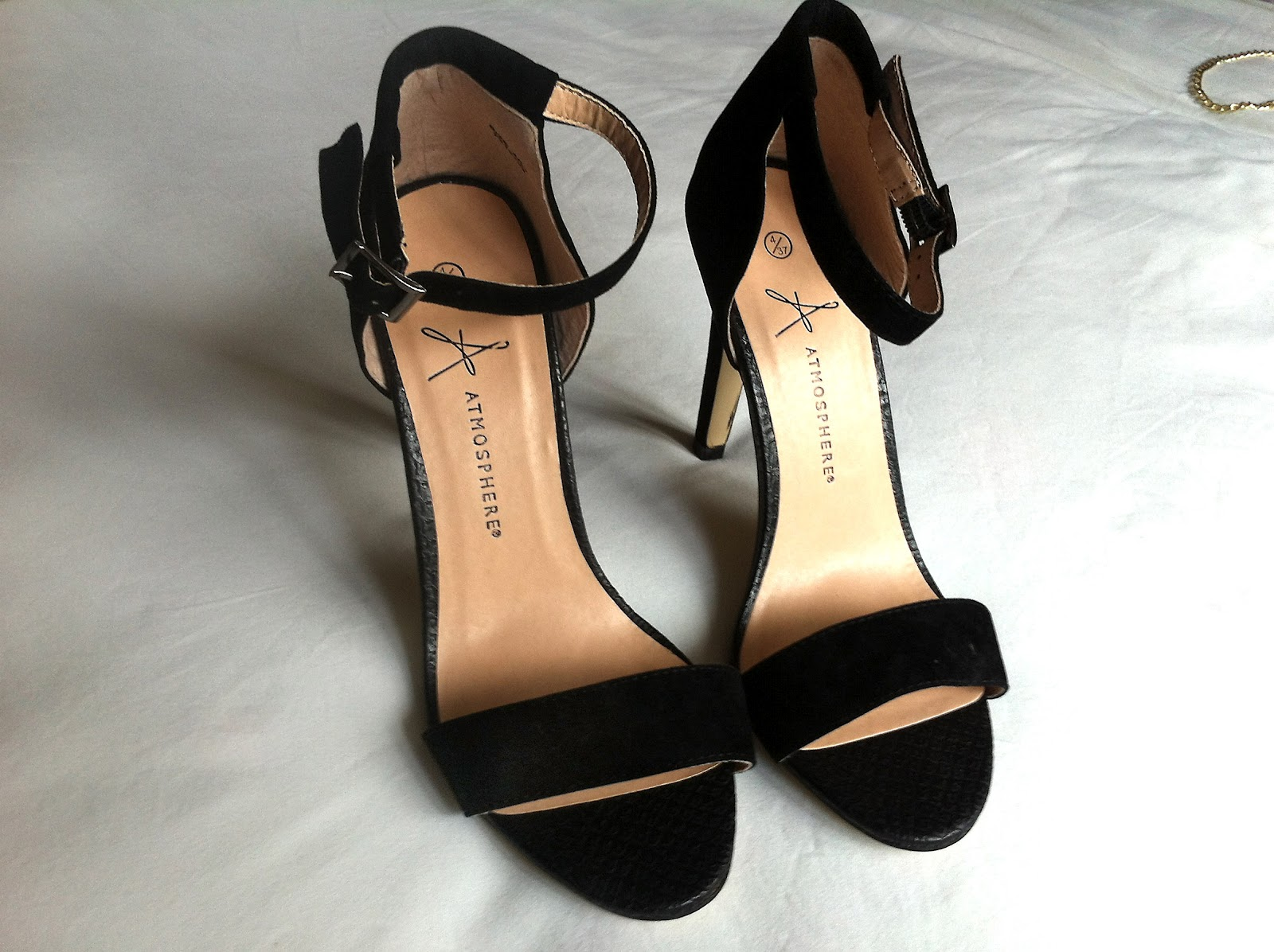 Black Strappy Shoes Primark