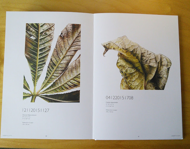 Leafscape book by Jess Shepherd
