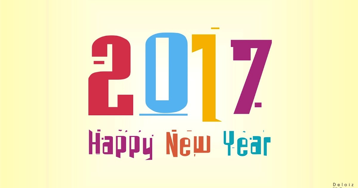 New Year 2017 Hd Wallpaper: 2017 Happy New Year HD Wallpaper