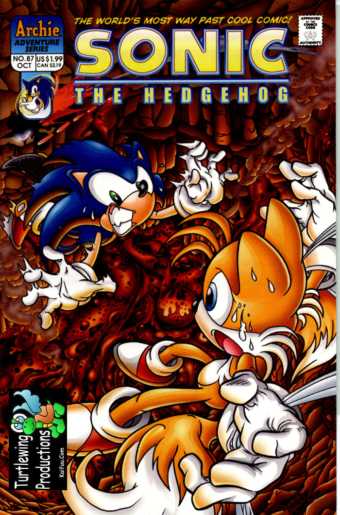Read online Sonic The Hedgehog comic -  Issue #87 - 1