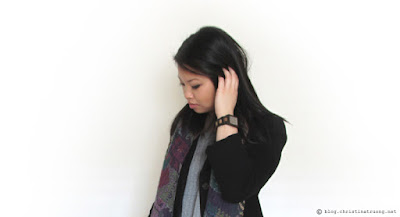 Warm Winter Wardrobe featuring JORD Wood Watch in Reece Golden Camphor and Khaki