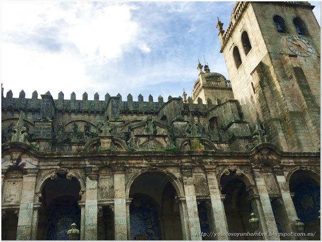 pórtico barroco lateral (nártex)